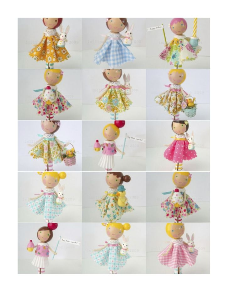 Lots of ideas for clothes peg dolls :-)