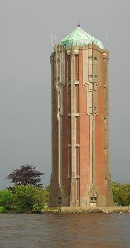 art deco, watertoren aalsmeer, foto els terlouw