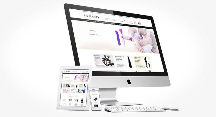 Responsive Magento E-Commerce Onlinenshop liranty.de System: Magento