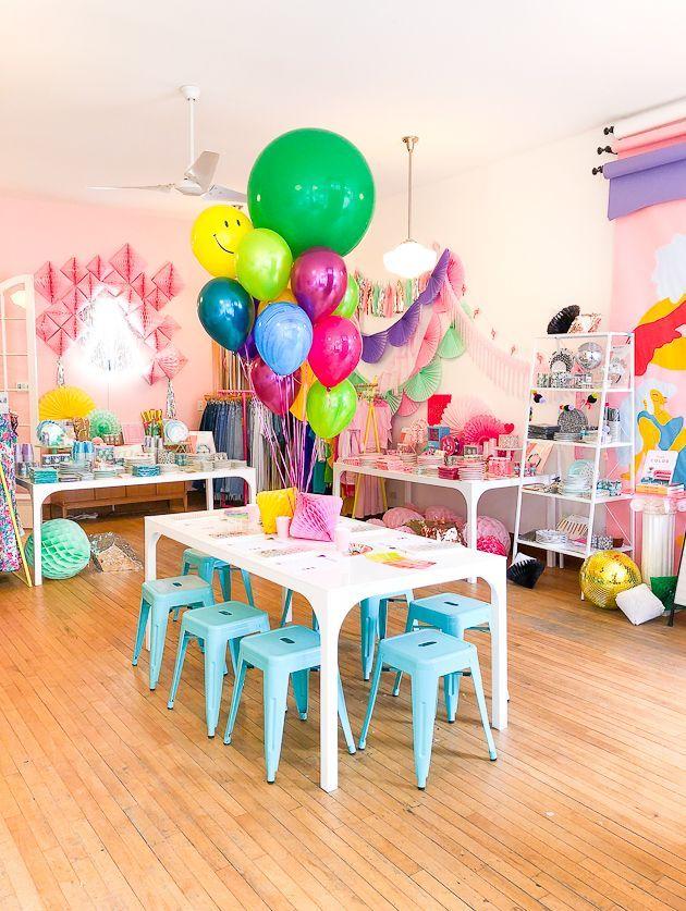 Ombre Balloon Garland By La Jolie Fete Cute Birthday Ideas