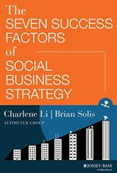 Charlene Li and Brian Solis have penned a nice e-book that can help you better understand what a social business strategy is and judge whether or not your social efforts are, in fact, strategically focused. With the Altimeter Group's normal quality of basing their assertions in research and case stu