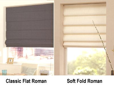 Altar Room Inverted Pleat Flat Roman Shades Master