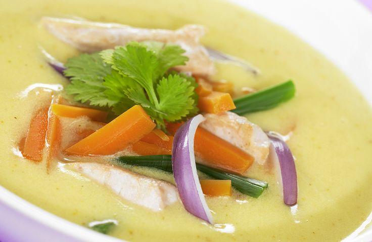 Suppe smaker godt til middag, og er enkelt å lage. Denne suppen er eksotisk på smaken.