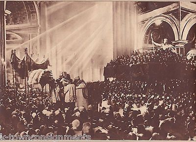 CORONATION OF POPE PIUS XI ST PETERS ROME WWI 1920s NEWS PHOTO POSTER PRINT