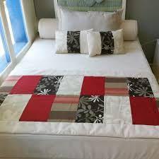 Resultado de imagen para pie de cama en patchwork