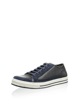 50% OFF Kenneth Cole New York Men's Suite Tooth Low-Top Sneaker (Blue)