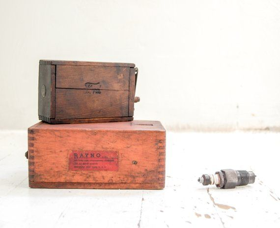 Vintage Automobile Collectibles Ford Model T Coil Box Gift For