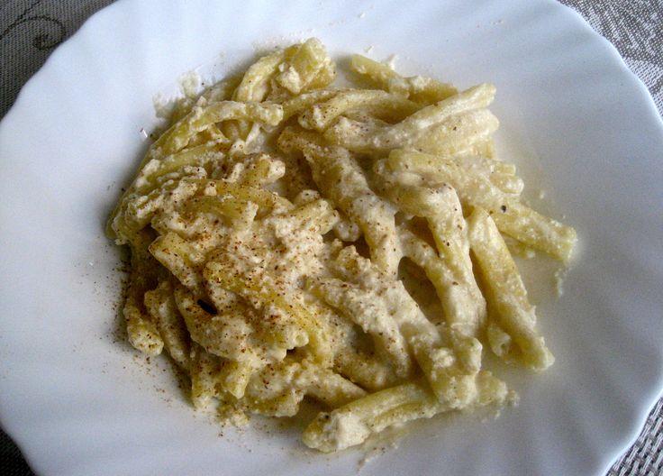 7th Day of Christmas – Ricotta Zafferano Fusilli | Kitchen Paradiso