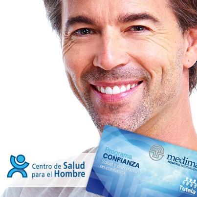 Descuentos Salud Hombre con programa confianza.
