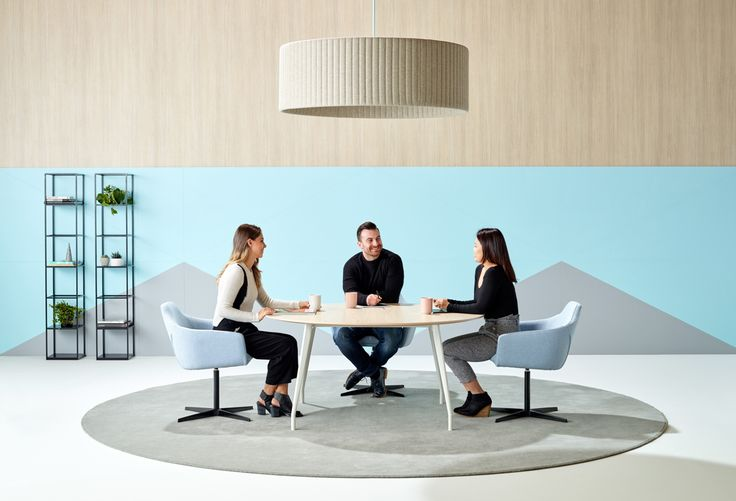 A sense of connection within a supportive team culture can encourage positive engagement and productivity | Aire table | Schiavello.