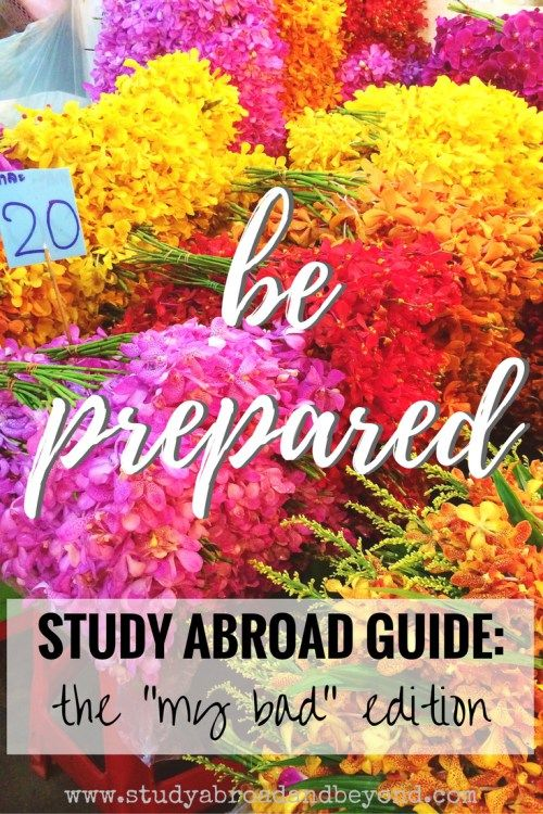 Study Abroad Guide: Prepare for Anything