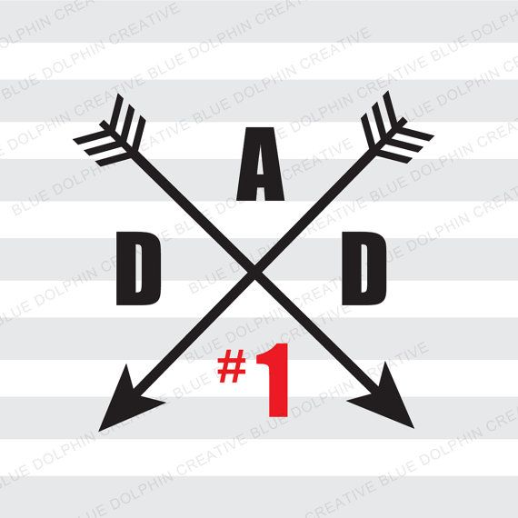 Number One Dad SVG png pdf / Best Dad / #1 Dad SVG / Father's Day art / Cricut, Silhouette cutter files / INSTANT download / Vector art /