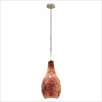 Vasco Crackled Glass Pendant V & M Imports $116.95
