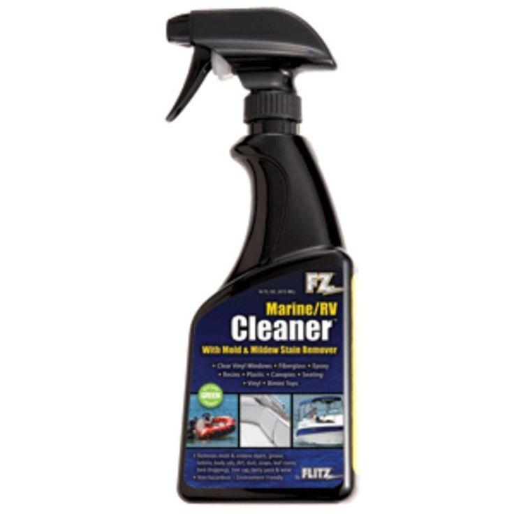 Flitz Marine-RV Cleaner w-Mold & Mildew Stain Remover - 16oz Spray Bottle