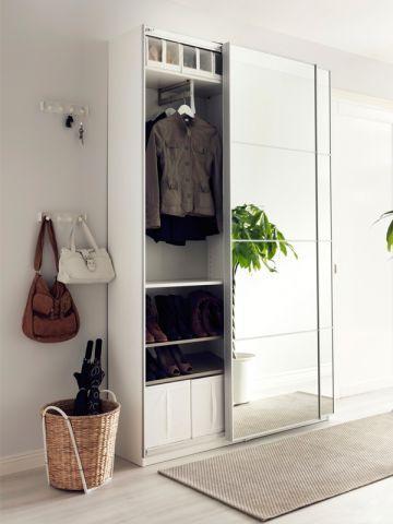 Une entrée ultra fonctionnelle - IKEA