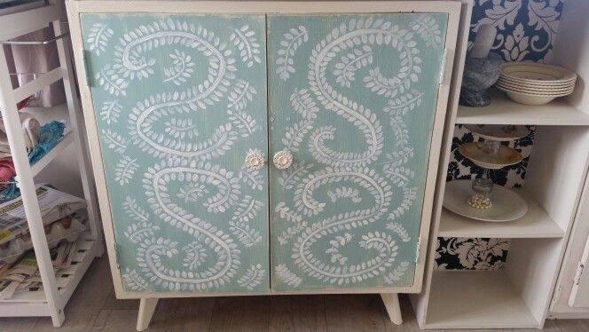 Upcycled cupboard by H J SILLIS