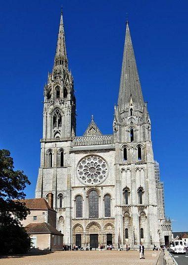 「シャルトル大聖堂」の画像検索結果