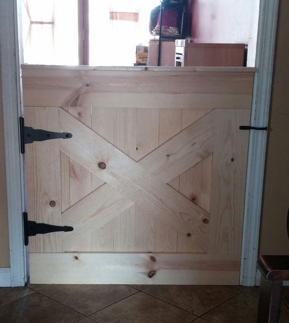 Barn Door Baby Gate By Deerlakedesigns On Etsy