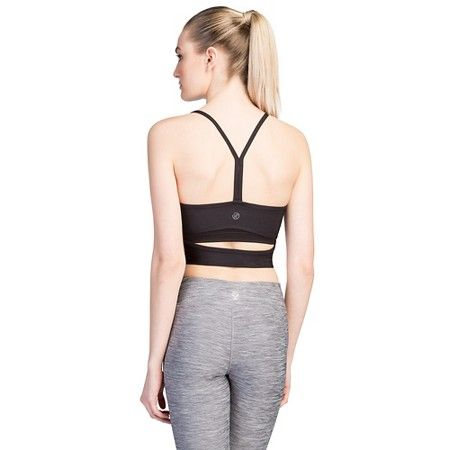 Women's Long Mesh Front Sports Bra - Velvet Rose. A great addition to your workout wear. This awesome piece has the profile of a cropped tank top and the support of a sports bra. #WomensFashion #SportsBra #WorkoutClothes More Detail >>> http://sportsbras.goguides.cc/bestbras/aHR0cDovL2JpdC5seS8yOXFOSjA3