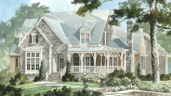 I love this house too...: Stones Cottages, Floors Plans, Southern Living, English Cottages, Farmhouse Styles, Dream House, Floorplan, Front Porches, House Plans