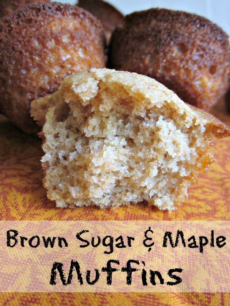 Brown Sugar Maple Muffins