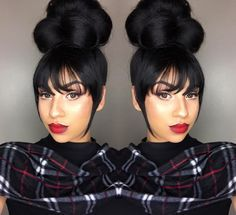 2016 Holiday Hairstyles for Black & African American Women