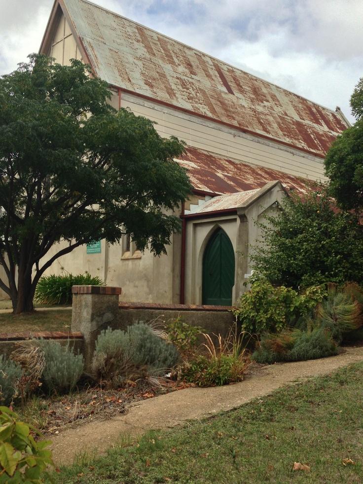 Castlemaine Baptist Church 1861