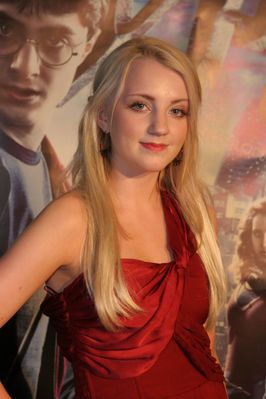 I have always been in love with Evanna Lynch, I know she's an actress and I'm just a normal fan of a lot of things but...it can happen...