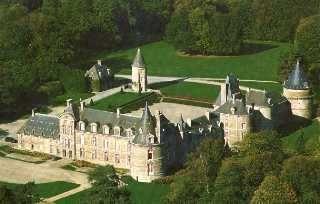 Château de Canisy. Normandie