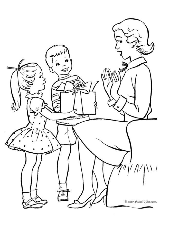 243 Free Mothers Day Coloring Pages For The Kids To Color Raising Our