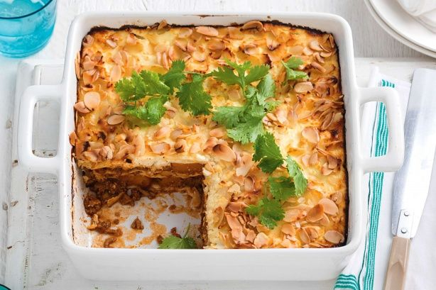 Spiced beef and pumpkin tortilla bake - A unique blend of spice, honey, yoghurt and beef mince combine to create the glorious layered tortilla bake. Quick to prepare and inexpensive to make, this one may be a future favourite in your home.