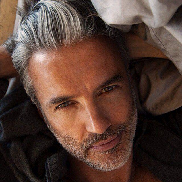 Maduros Hombres Sexy Gray Peinados //  #Gray #Hombres #Maduros #Peinados #Sexy