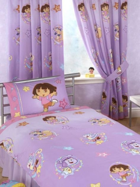 Dora bedroom decorations dora the explorer bedroom decor for Dora themed bedroom designs