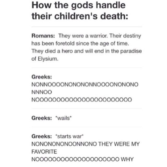 HAHAHAHAHAHAHAHAHAHAHAHAHAHA!!!!!!!!!!!!!!!!!!!!!!!!!!!!!!!!!!!!!!!!!!!!!!!!!!!!!!!!!!!!!!!!!!!!!!!!!!!!!!!!!!!!!!!!!!!!!!!!!! The Greeks are so hilarious and the Romans are like whatevs........ though I will say that I love the Greeks reaction a lot better.
