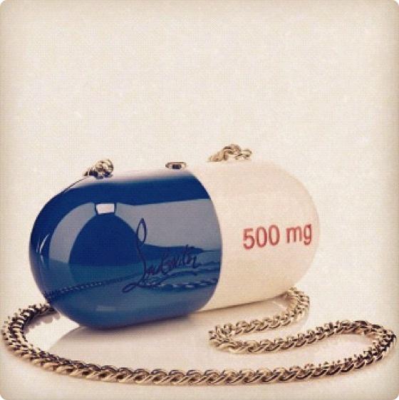 Loubutin Pill Handbag