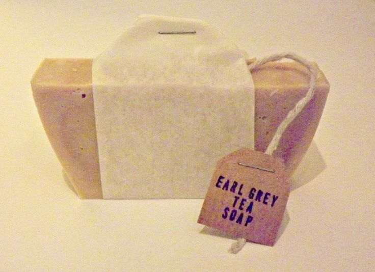Earl Grey Tea Soap ...everyone's cup of tea! Great idea for Christmas present!