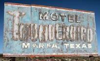 Thunderbird Motel, Marfa, Texas