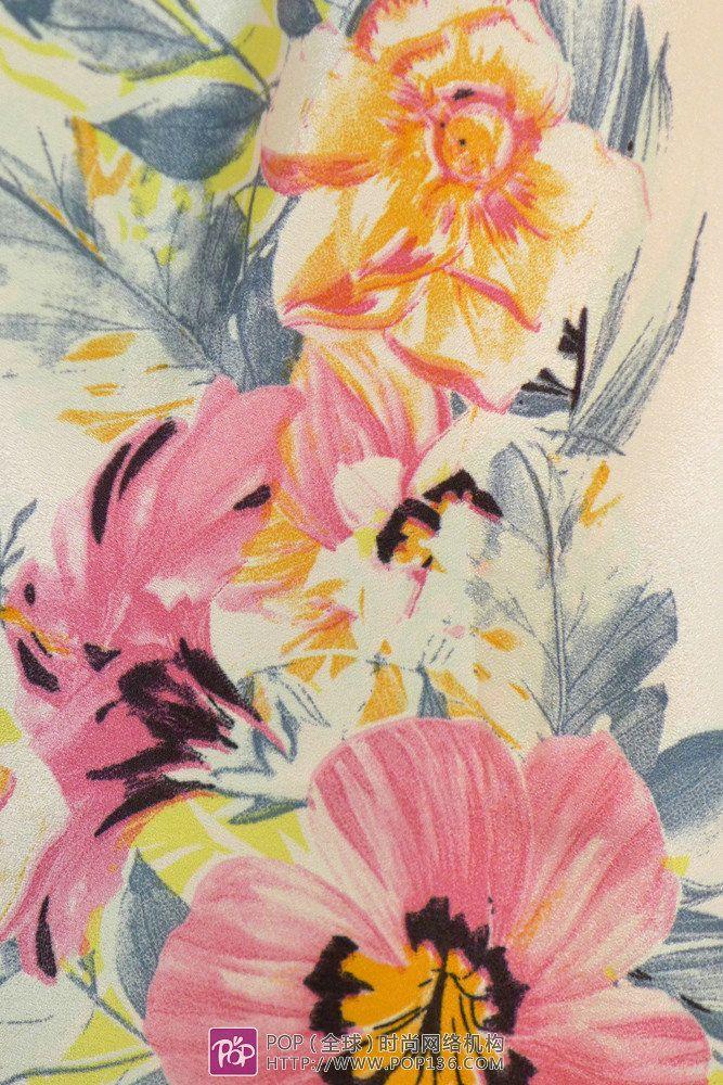 2014ss Tissu Premier fabric print trends