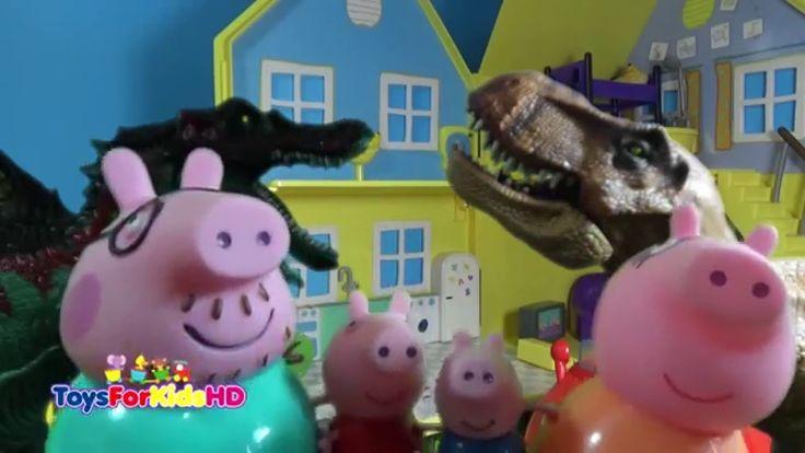 Videos de Peppa Pig en español - Peppa Pig visita la granja con su famil...