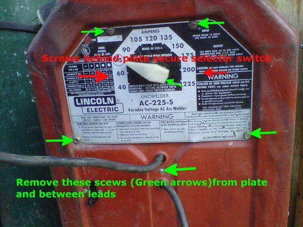 Lincoln Arc Welder Wiring Diagram Building Electrical Symbols Refreshing Your Ac 225 220v Tombstone Tool Welding Pinterest Projects And Welders