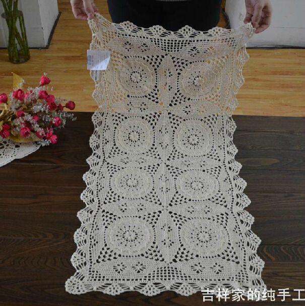 100% хлопок ручной работы вязка крючком салфетки ретро скатерть для стол украшение год покрывало на диван свадьба поставки