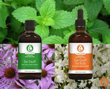 What's in the De-Stuff Products? -  The herbal extracts in De-Stuff pack a powerful synergistic punch & learning what is actually in them goes a long way towards understanding how they work so well.
