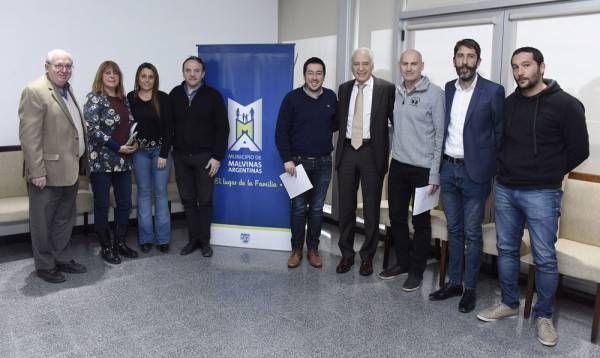 Nardini y el Dr. Cormillot se reunieron para planificar el primer Instituto de Nutrición en Malvinas Argentinas