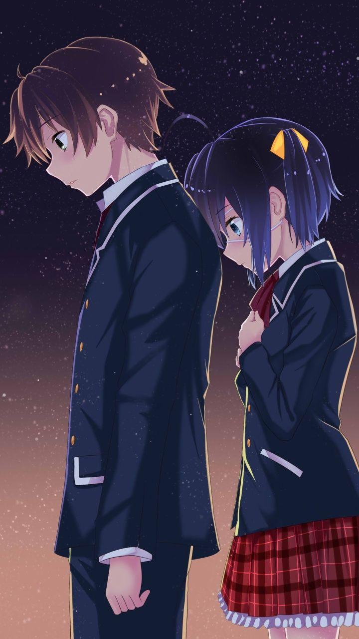 富樫 勇太 Yuuta Togasi & 小鳥遊 六花 Rikka Takanasi THIS IS TOO ADORABLE I CAN'T HANDLE IT