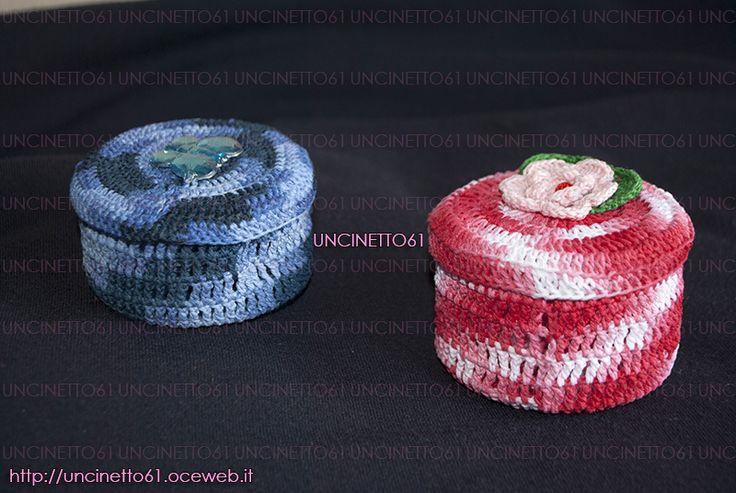 Scatoline porta confetti - Lavori Uncinetto