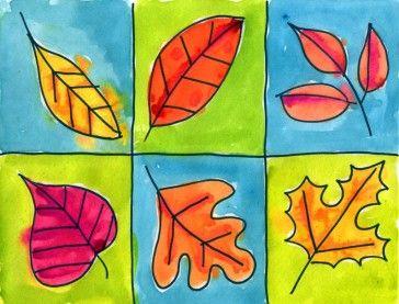 Leaves in a Grid
