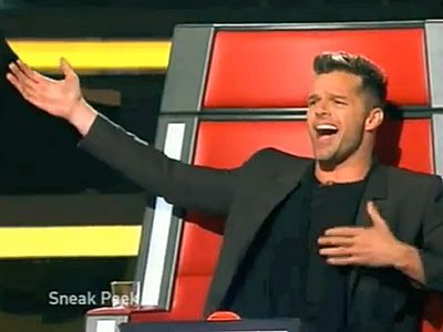 WATCH: First Look at Ricky Martin on The Voice | Advocate.com