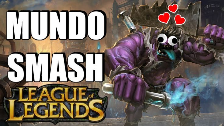 League of Legends - MUNDO SMASH!