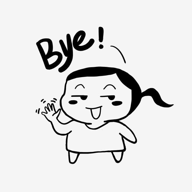 Au Revoir Bye Bye Bye Beau Au Revoir Clipart Dessin Anime Drole Fichier Png Et Psd Pour Le Telechargement Libre Illustration Drole Clipart Dessin Anime