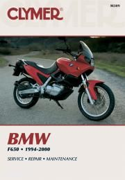 BMW F650 Funduro Motorcycle (1994-2000) Service Repair Manual